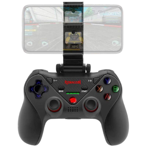 Controle Redragon Ceres G812 para PC/iOs/Android Bluetooth Preto