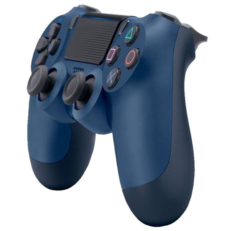 Controle Sony Sem Fio Dualshock 4 PS4 Blister-Azul Midnight