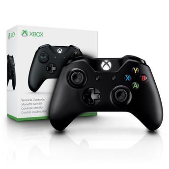 Controle Xbox One Sem Fio - Preto
