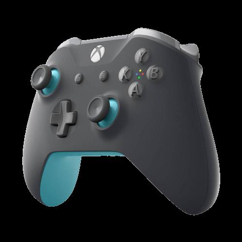 Controle Xbox One WL3-00105 Grooby Bluetooth - Cinza/Azul