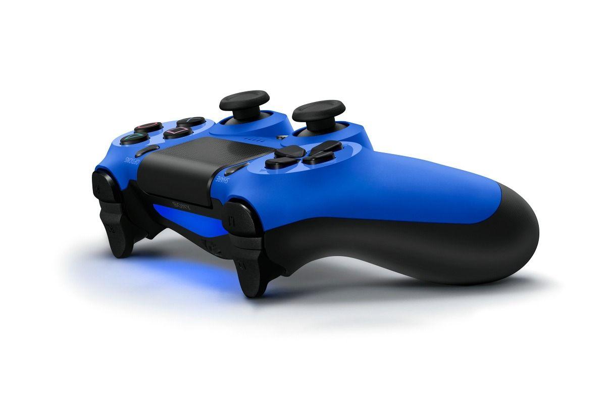 Controle DualShock 4 Azul Blue Playstation 4
