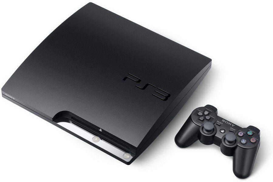 Playstation 3 SLIM SEMINOVO 160gb + 5 JOGOS (loja fisica)