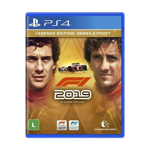 F1 2019 Legends Edition - PlayStation 4 - PS4
