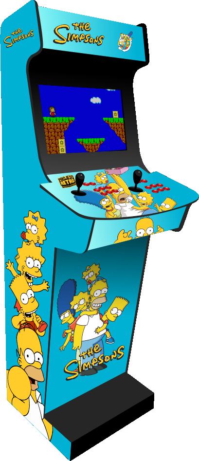 Fliperama clássico com 30 plataformas e mais de 10 Mil jogos