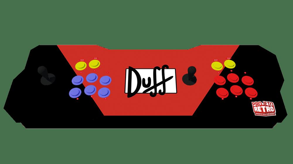 Fliperama Duplo Portátil 64GB Estampa DUFF