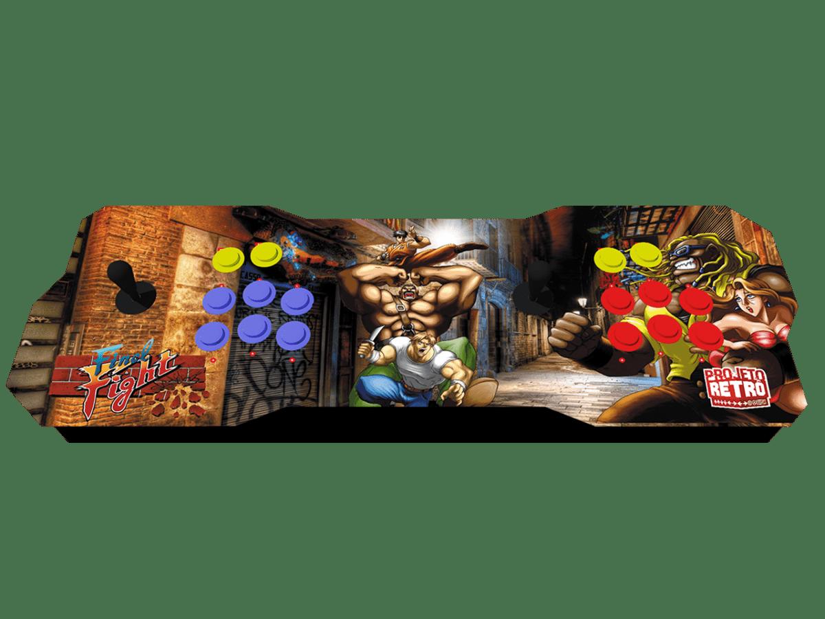 Fliperama Duplo Portátil 64GB Estampa FINAL FIGTH