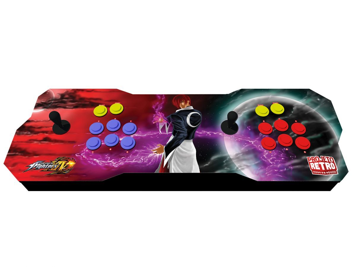Fliperama Duplo Portátil 64GB Estampa The King of Fighters