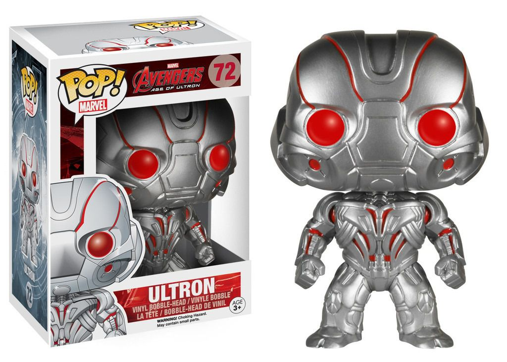 FUNKO POP! ULTRON - AVENGERS: AGE OF ULTRON #72