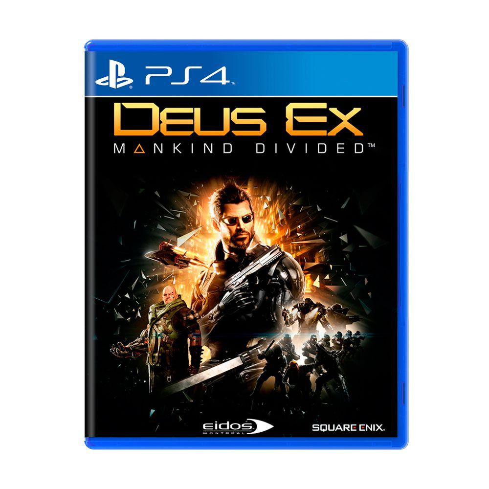 Game Deus Ex: Mankind Divided - PS4