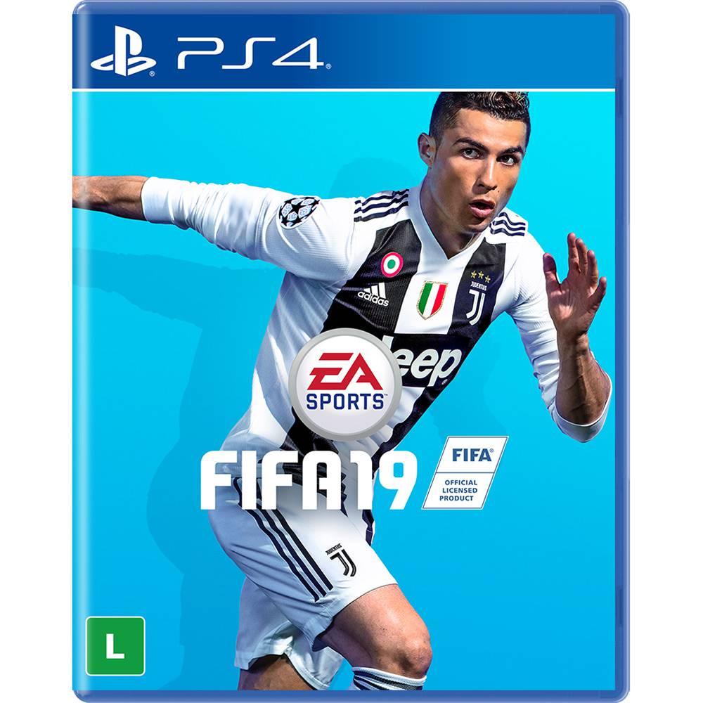 Game FIFA 19 - PS4 Americano