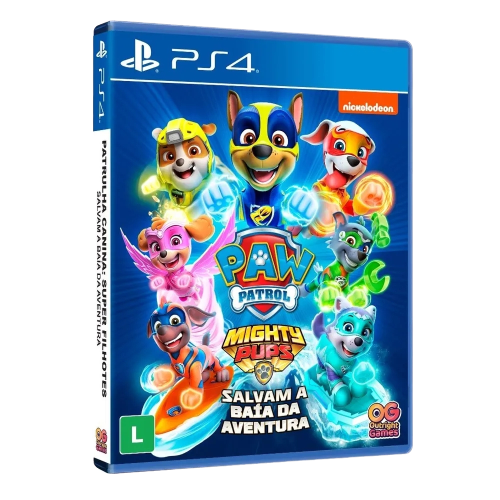Game Patrulha Canina Super Filhotes Salvam a Baía da Aventura - PS4