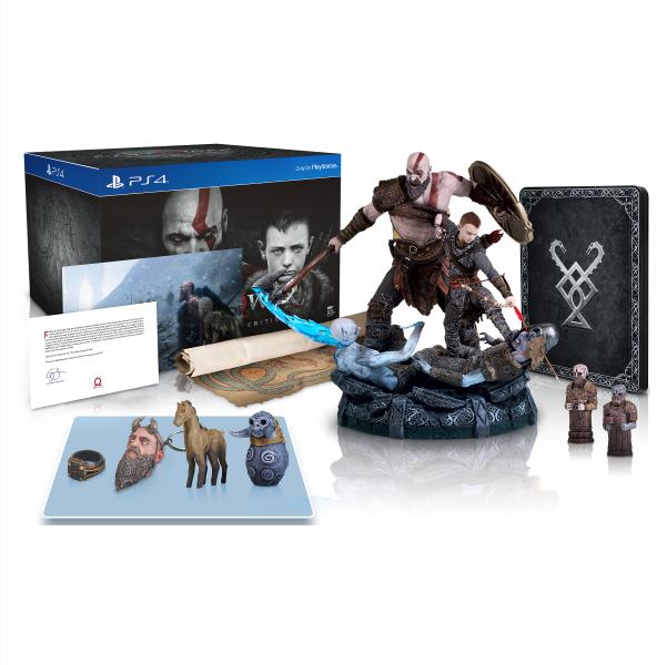 God of War Stone Mason Edition (Pré-venda) - PS4