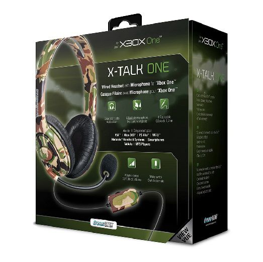 HEADSET DREAMGEAR X-TALK GAMING CAMUFLADO XBOX ONE e Universal