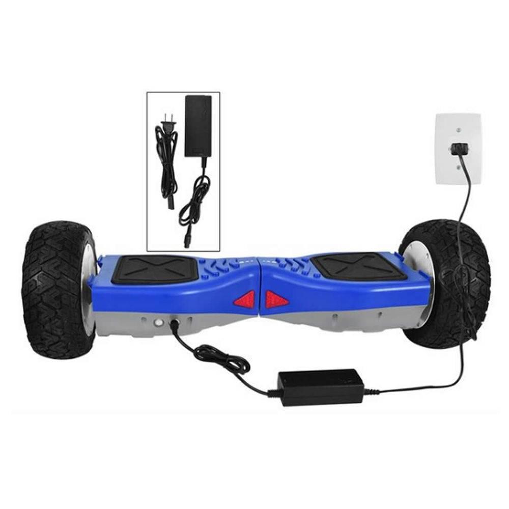 Hoverboard Off-road Bateria Samsung Lançamento 8,5 Polegadas Scooter Elétrico Azul