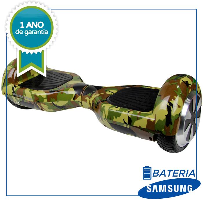 Hoverboard Skate Elétrico CAMUFLADO Smart Balance Wheel 6,5 Polegadas