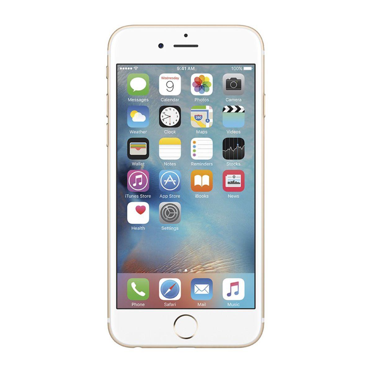 Iphone 6 128gb Tela 4.7' 8mp 4G Apple Dourado Smartphone