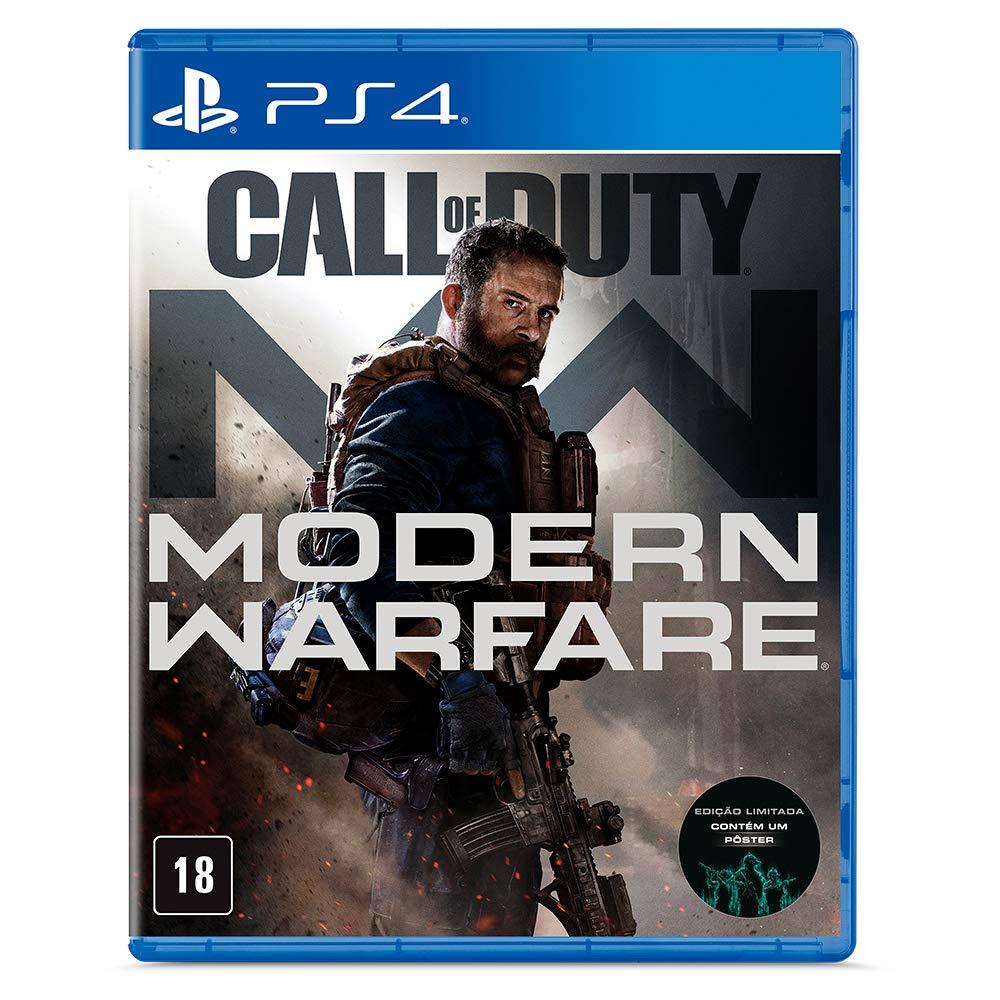 Jogo Call Of Duty Modern Warfare - Edição Padrão - PlayStation 4 ps4