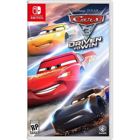 Jogo Cars 3 Caros driven to win Nintendo Switch