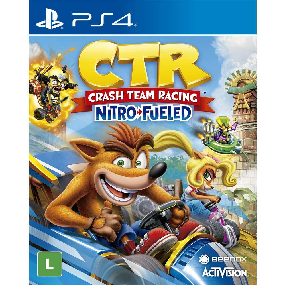 Jogo Crash Team Racing Nitro Fueled - PlayStation 4 - Edição Padrão