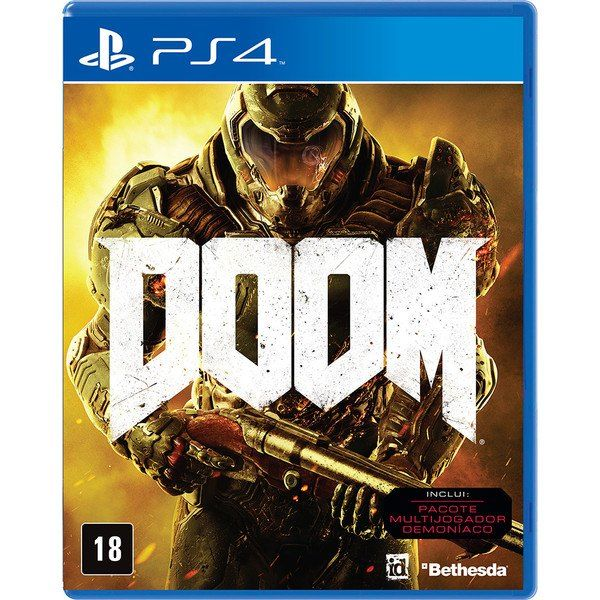 JOGO DOOM PS4