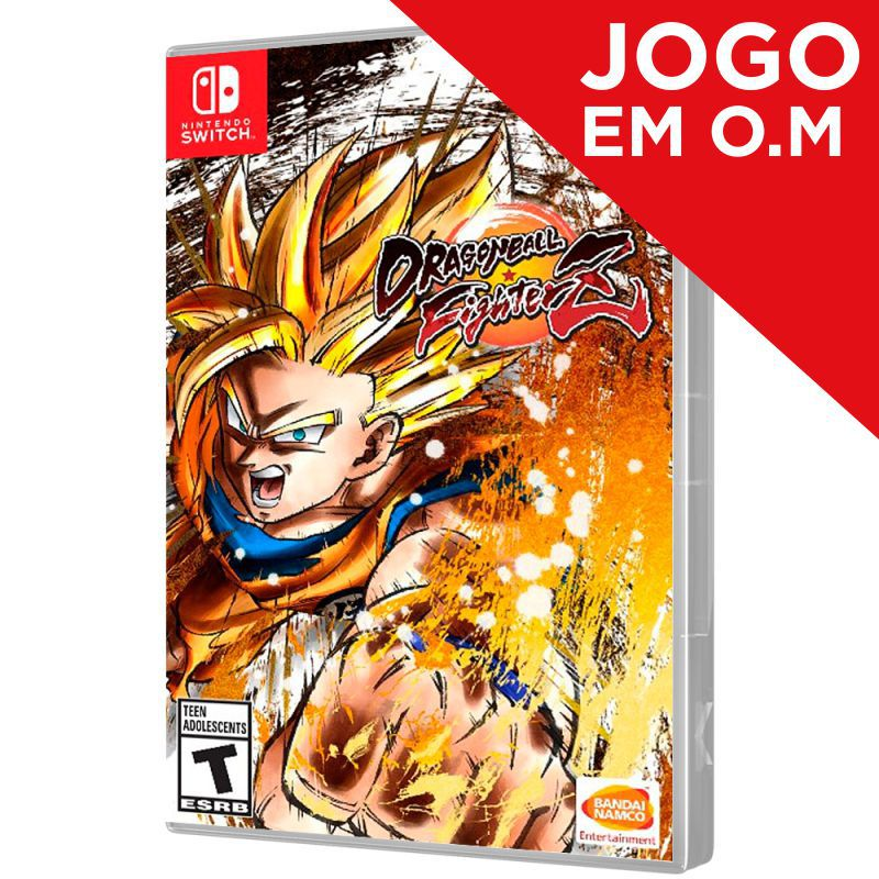 JOGO DRAGON BALL FIGHTERZ NINTENDO SWITCH (Em O.M)