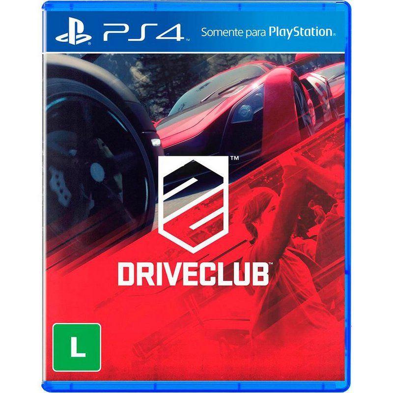 JOGO DRIVE CLUBE PS4