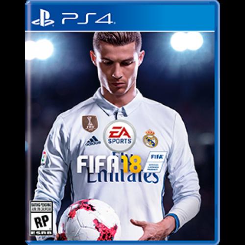 Jogo FIFA 18 -PS4 Americano