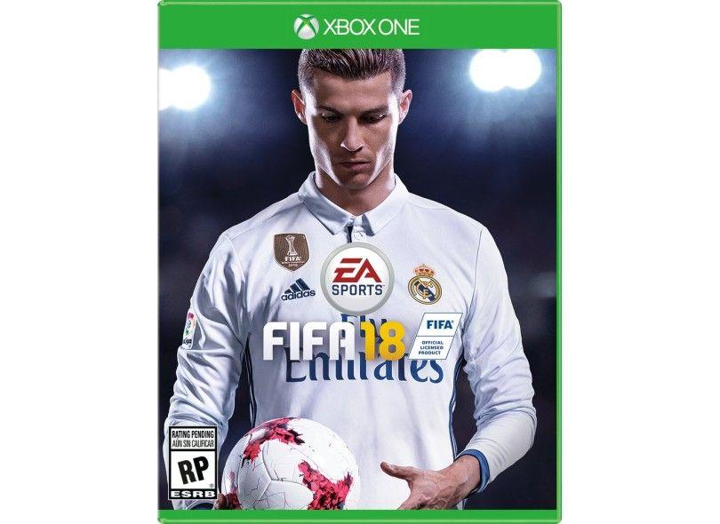 JOGO FIFA 18 XBOX ONE