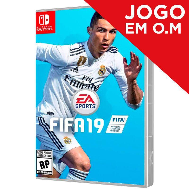 JOGO FIFA 19 ESPANHOL E INGLÊS NINTENDO SWITCH (Em O.M)