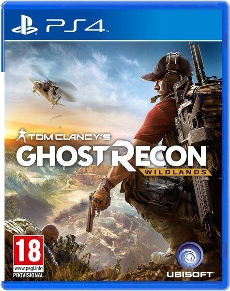 JOGO GHOST RECON WILDLANDS PS4