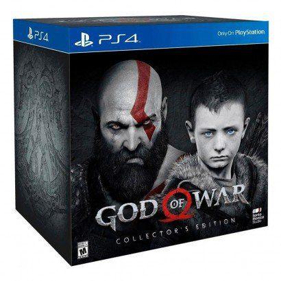 JOGO GOD OF WAR COLLECTORS EDITION PS4