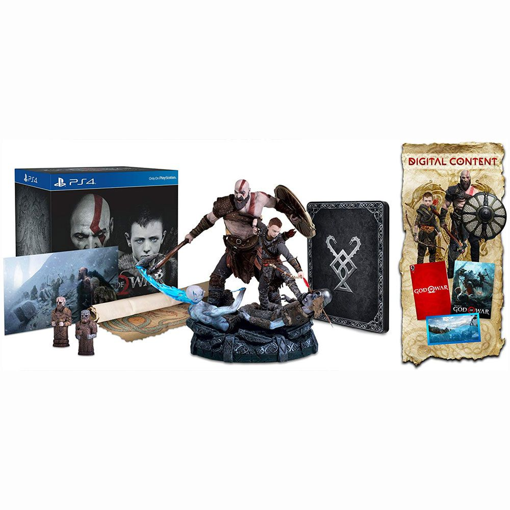 JOGO GOD OF WAR COLLECTORS EDITION PS4