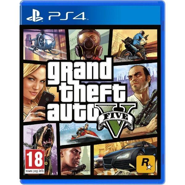 JOGO GTA V PS4