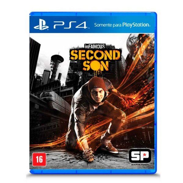 JOGO INFAMOUS SECOND SON PS4