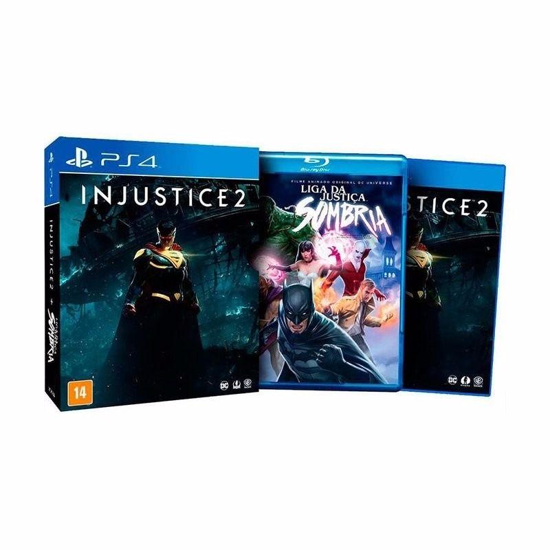 JOGO INJUSTICE 2 + FILME PS4