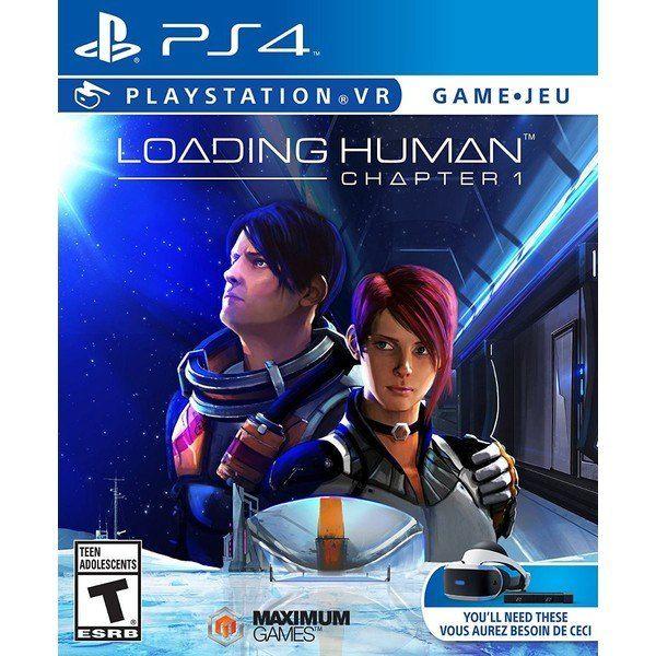 JOGO LOADING HUMAN PS4
