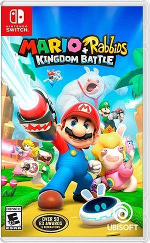 Jogo Mario + Rabbids Kingdom battle Nintendo Switch