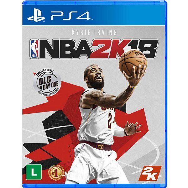 JOGO NBA2K18 PS4