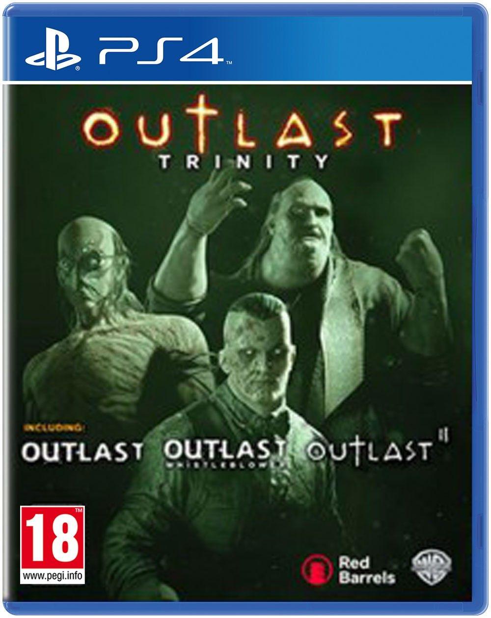 JOGO OUTLAST TRINITY PS4