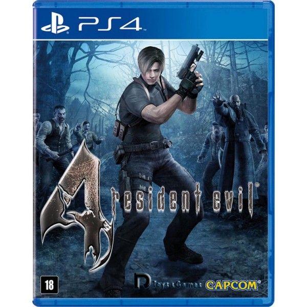 JOGO RESIDENT EVIL 4 PS4