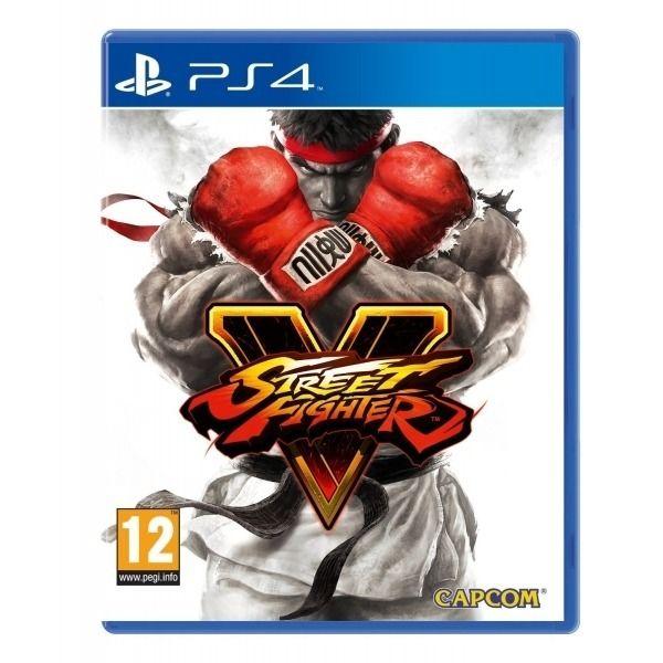 JOGO STREET FIGHTER V PS4