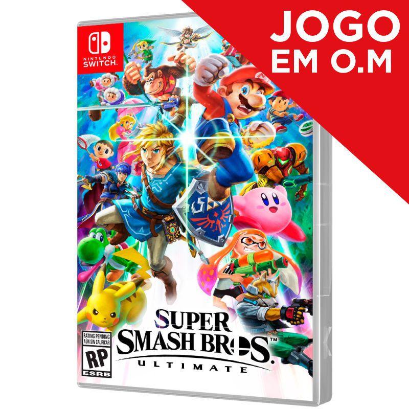 Jogo Super Smash Bros. Ultimate - Switch (Em O.M)