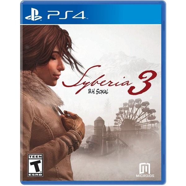 JOGO SYBERIA 3 PS4