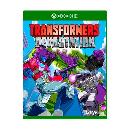 JOGO TRANSFORMERS DEVASTATION XBOX ONE