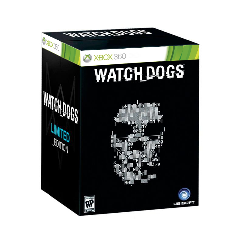 JOGO Watch Dogs: Limited Edition Xbox 360
