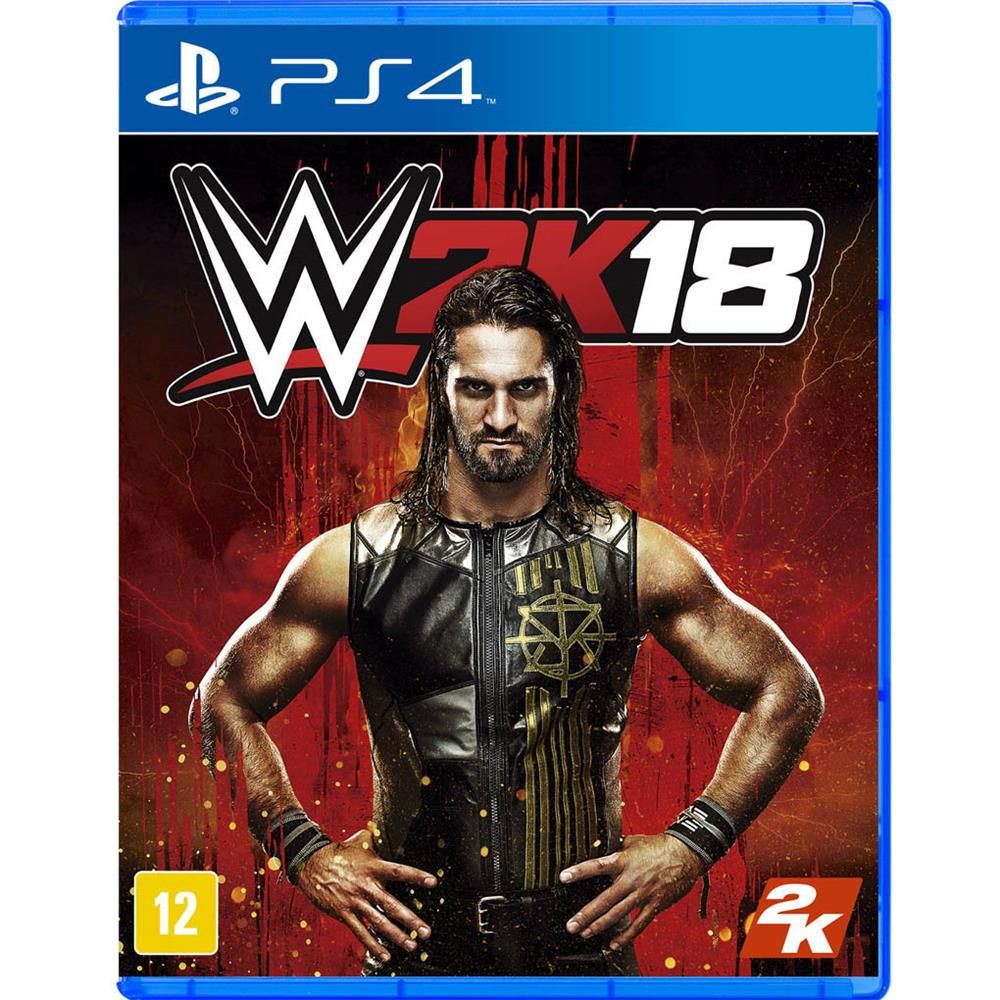 JOGO WWE2K18 PS4