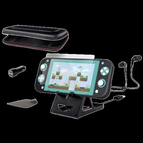 Kit Gamer dreamGEAR para Nintendo Switch Lite DGSWL-6530 Preto