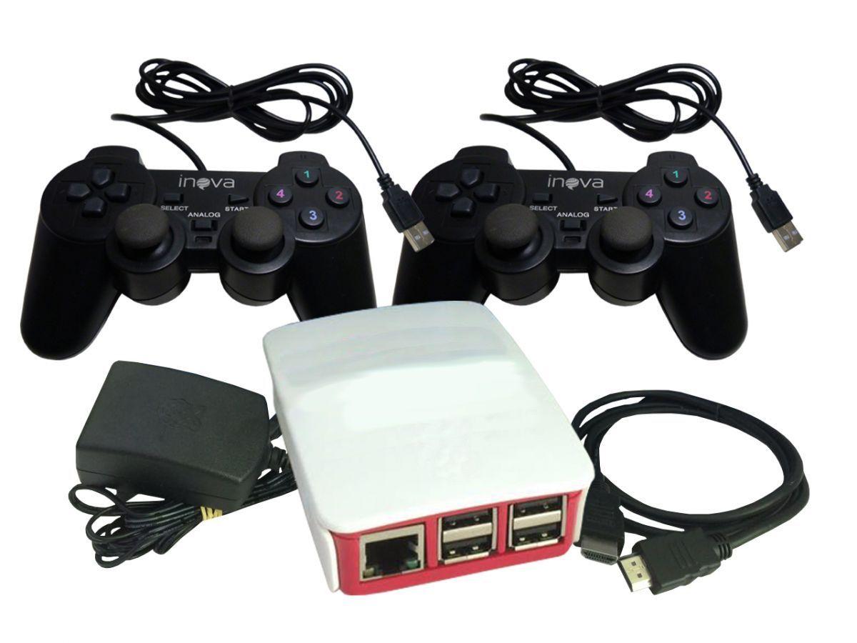 MINI CONSOLE RETRÔ CONTROLE PC USB