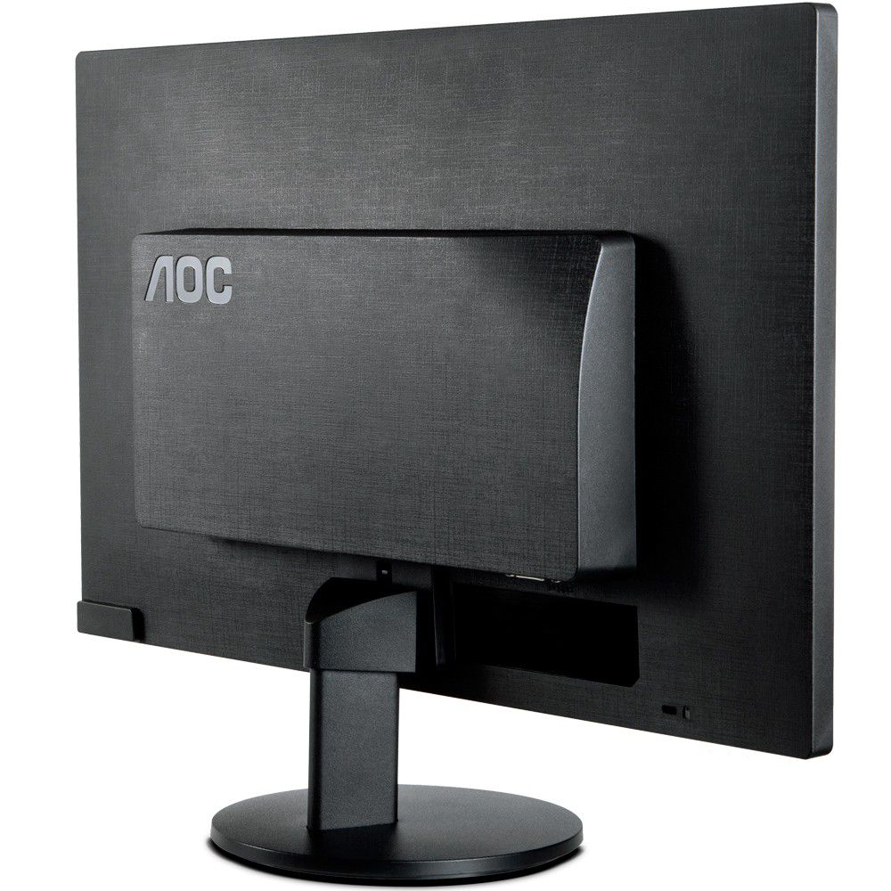 "MONITOR DE VIDEO LED 18,5"" WIDE PRETO E970SWNL AOC"