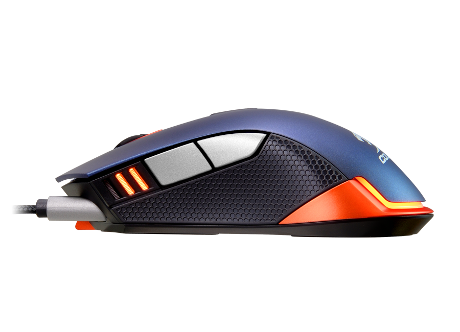 MOUSE OPTICO GAMING AZUL 550M USB COUGAR